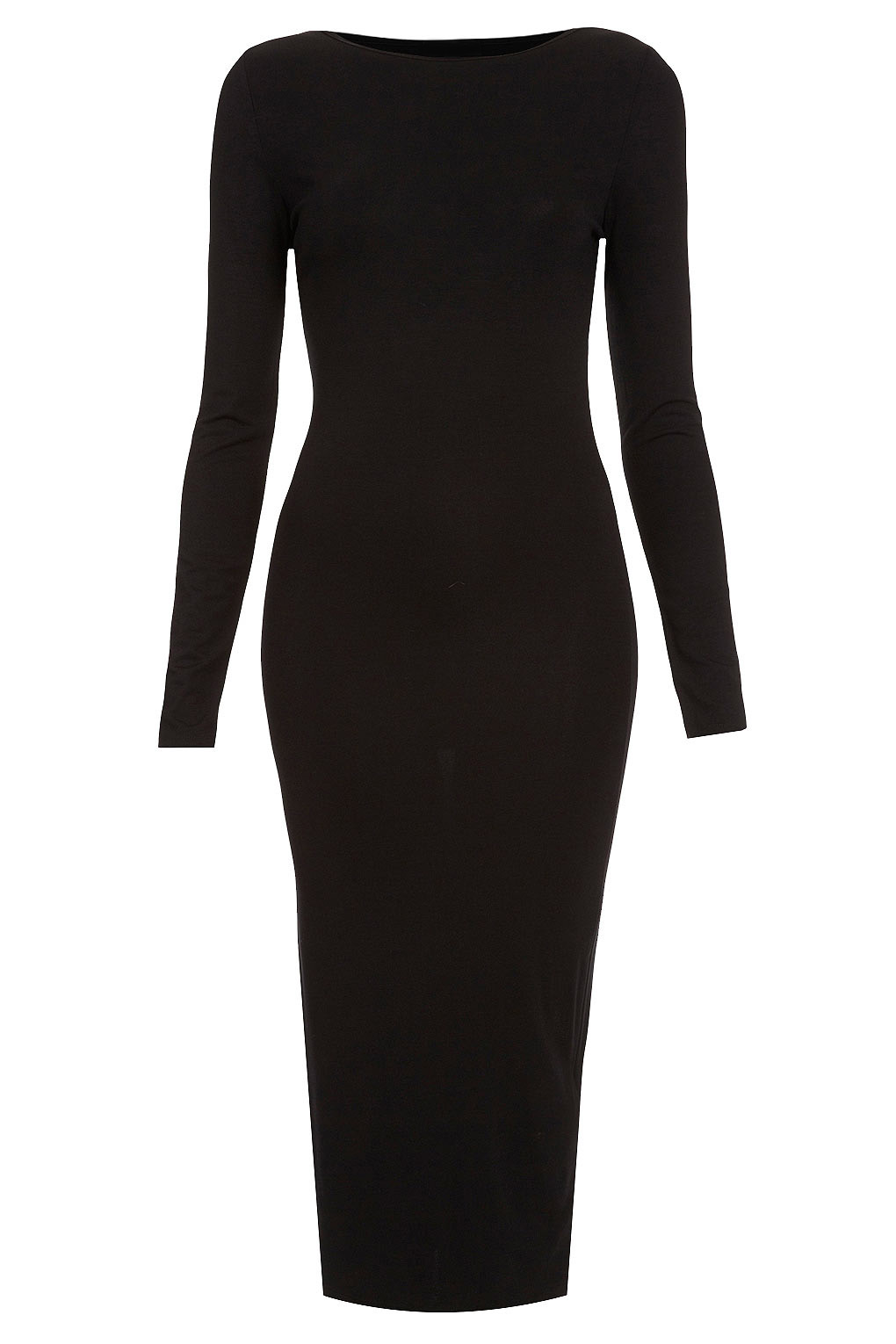 26187b23d23a Long sleeve bodycon dress (Black) – Soha MT Collection